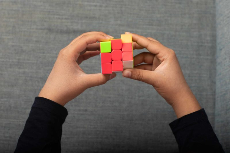 3 Rubik's cube competitions in India